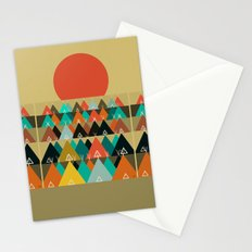 Tipi Moon Stationery Cards