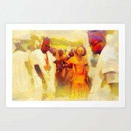 Owanbe Art Print