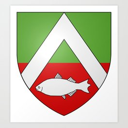 Coat Of Arms Of Constantine_2_(French_Algeria) Art Print