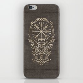 Vegvisir and Tree of life  - Yggdrasil iPhone Skin