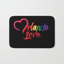 Heart Orlando Love Bath Mat