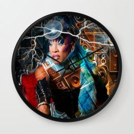 Sound Power Fx  Wall Clock