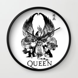 """QUEEN EXPEDITION"" Wall Clock"