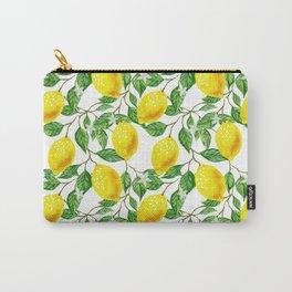Sunshine lemon pattern Carry-All Pouch