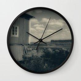 The Mill Kukkola river 6 Wall Clock