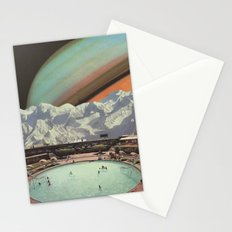Saturn Spa Stationery Cards