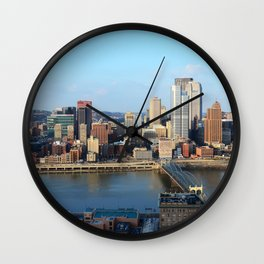 The City of Pittsburgh Wall Clock