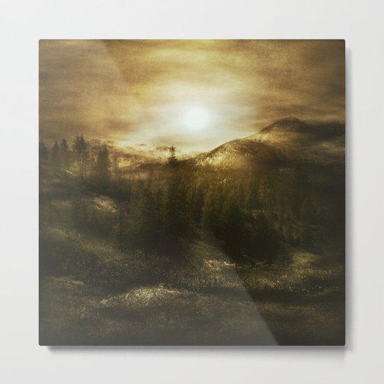 Chasing Light Metal Print