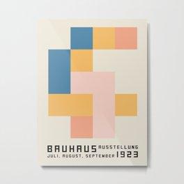 Bauhaus poster 1923 Juli. Metal Print