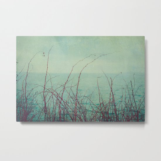 She Would Float and Stare at the Sky Metal Print