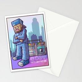 BBoy Stance Stationery Cards