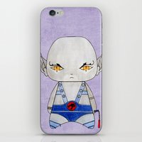 thundercats iPhone & iPod Skins featuring A Boy - Panthro (Thundercats) by Christophe Chiozzi