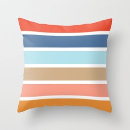 Six Stripes Throw Pillow