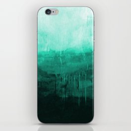 Paint 8 abstract minimal modern water ocean wave painting must have canvas affordable fine art iPhone Skin