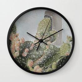 Plastic Wrap Cactus Wall Clock