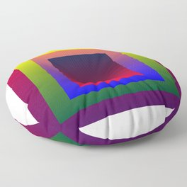 Color Shades by MRT Floor Pillow