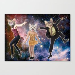 Prancing with the Stars Canvas Print