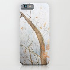 Watercolor under the trees Slim Case iPhone 6s