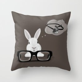 I Want To Be A Doctor Throw Pillow