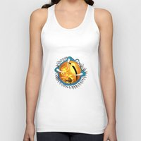 skyfall Tank Tops featuring Skyfall Dragon's Eye by Pr0l0gue