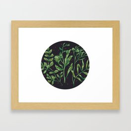 plants Framed Art Print