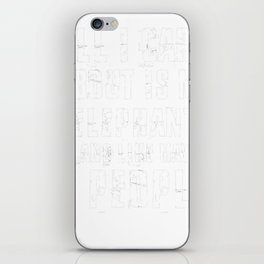 Elephant-tshirt,-all-i-care-about-is-my-Elephant iPhone Skin