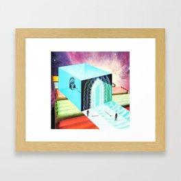 Welcome To The New World X Framed Art Print