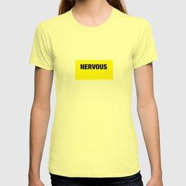 NERVOUS shirt for Doggo pals T-shirt
