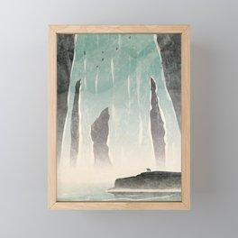 Strange Frontier: Venerated Pools Framed Mini Art Print