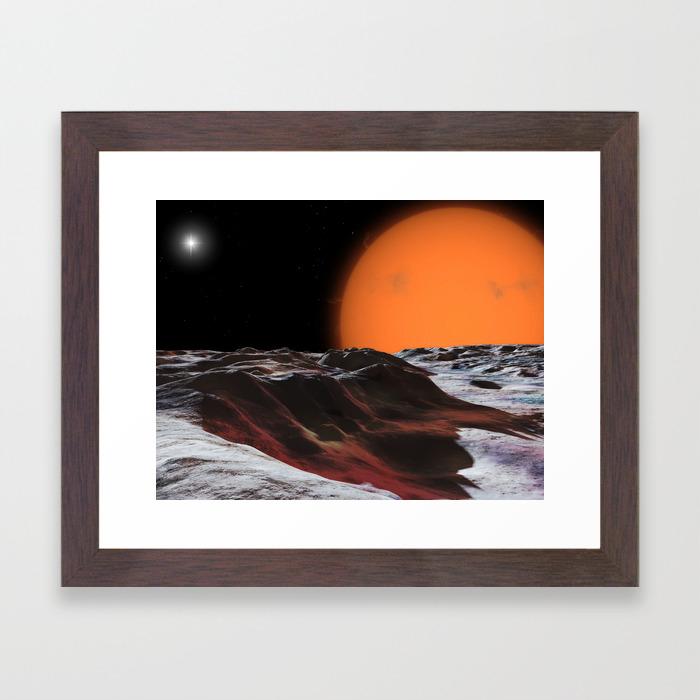 Mira Ceti Framed Art Print By Ronmiller Society6
