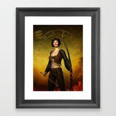 Sagittarius Zodiac Fantasy Framed Art Print