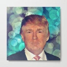 President Donald J. Trump Metal Print