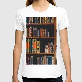 The Bookshelf (Color) T-shirt