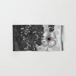 Poppy in the dark S50 Hand & Bath Towel