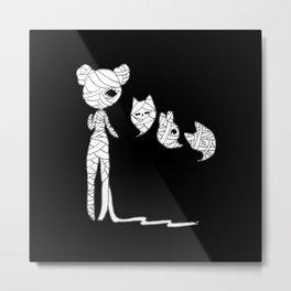 ▴ mummy ▴ Metal Print