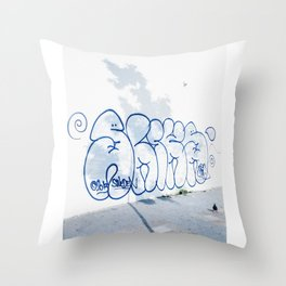 Sliks Throw Pillow