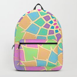 Pastel Lotus Backpack