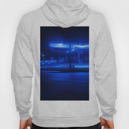 scifi gas station Hoody