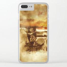 Dschunke Clear iPhone Case