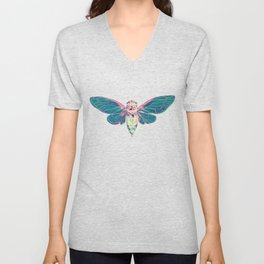 Flying Cicada Unisex V-Neck