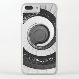 Spiraled Clear iPhone Case