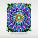 Mixed Media Mandala 3 by perkinsdesigns