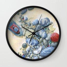 Beach Front II Wall Clock