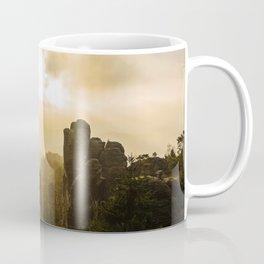 Elbe Sandstone Mountains Coffee Mug