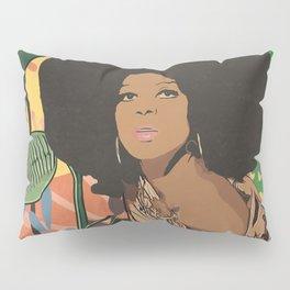 Afro woman  Pillow Sham