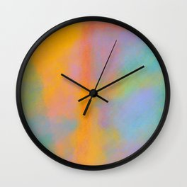 The Lesson: A Colorful & Abstract Rendering of the Emotions Involved in a Positive Interaction Wall Clock