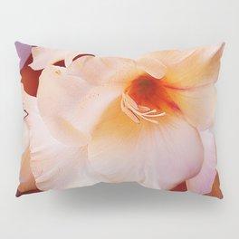 Sword Lily Red Bokeh Pillow Sham