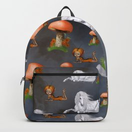 Cute fairy with unicorn pattern Backpack