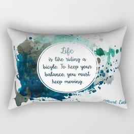 Albert Einstein's quote Rectangular Pillow