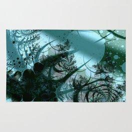 Fruitful Abstract Fractal Art Rug